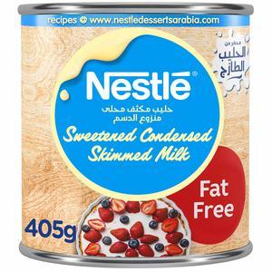 Nestle Sweetened Condensed Milk Fat Free 405g