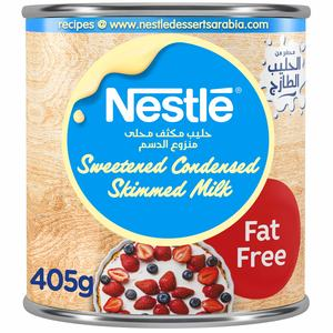 Nestle Sweetened Condensed Milk Fat Free 405g