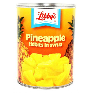 Libbys Pineapple Titbits 570g