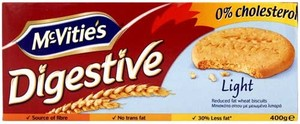Mcvities Digestive Light Biscuits 400g