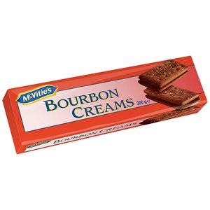 Mcvities Dark Bourbon Cream Biscuit 200gm