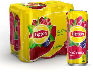 Lipton Red Fruit Ice Tea 6x320ml