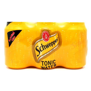 Schweppes Tonic Can 6x330ml