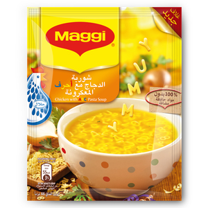 Nestle Maggi Chicken Soup With Alphabet Pasta 66g