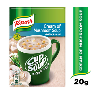 Knorr Cup-A-Soup Cream Of Mushroom 20g