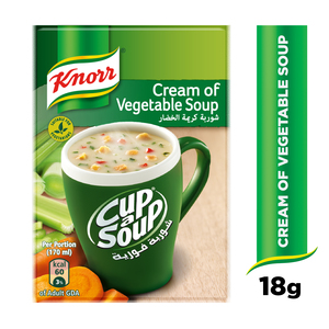 Knorr Cup-A-Soup Cream Of Vegetable 18g