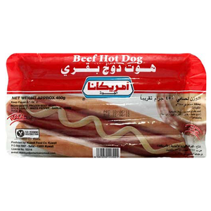 Americana Beef Hot Dog 450gm
