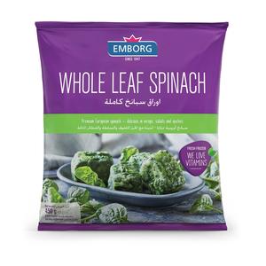 Emborg Leaf Spinach 450gm
