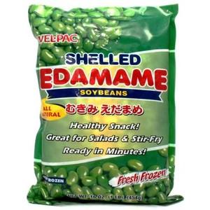 Wel-Pac Shelled Edamames 454g