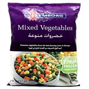 Emborg Frozen Mixed Vegetable 450gm