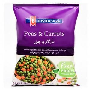 Emborg Peas & Carrot Mix 450g