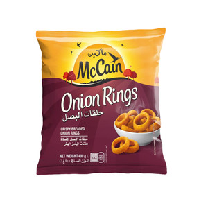 Mccain Onion Ring 400g