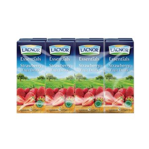 Lacnor Long Life Strawberry 8x180ml