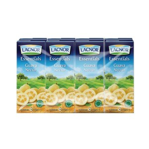 Lacnor Long Life Guava 8x180ml