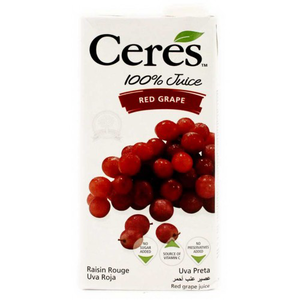 Ceres Juice Red Grape 1ltr