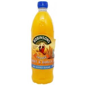 Robinsons Orange Fruit Barley No Added Sugar 1ltr