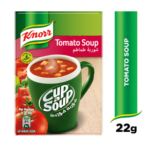 Knorr CupASoup Cream Of Tomato 22g