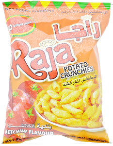 Raja Potato Crunchies 70g