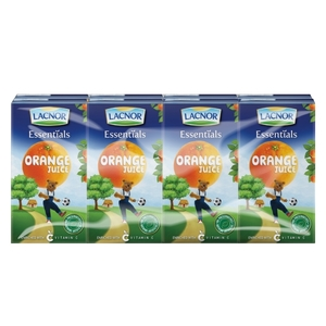Lacnor Junior Orange Juice 6x125ml