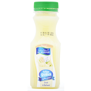 Al Rawabi Fresh & Natural Guava Juice 200ml