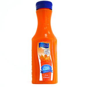 Al Rawabi Fresh & Natural Orange & Carrot Juice 200ml