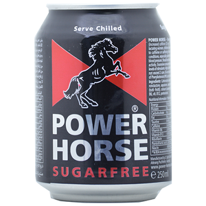 Power Horse Can Sugar Free 250ml