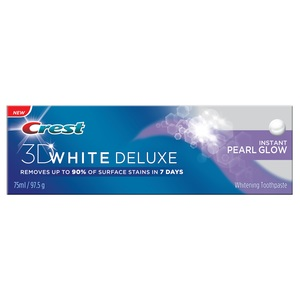Crest 3 D White Deluxe Instant Pearl Glow Toothpaste 75ml