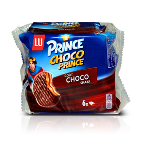 Lu Prince Choco Smack Chocolate Biscuit 6x28.5g