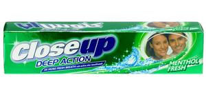 Closeup Deep Action Menthol Fresh Toothpaste 120ml