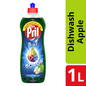 Pril Multi Power Dishwashing Liquid Apple 1L