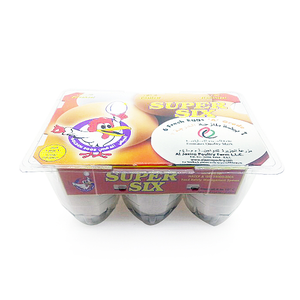 Golden Eggs Super Six Large Eggs 6pcs