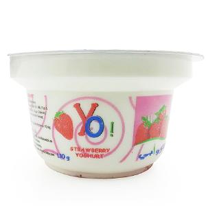 Al Rawabi Yo! Strawberry Yoghurt 130g