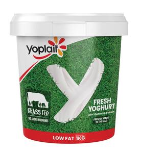 Yoplait Plain Low Fat Yoghurt 1kg