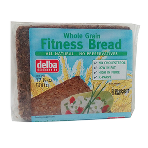 Delba Whole Grain Fitness Bread 500g