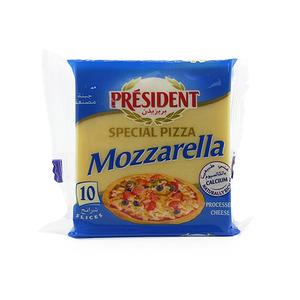 President Special Pizza Mozarella Cheese Slices 10pcs