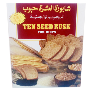 Ten Seed Rusk For Diets 300g