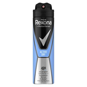 Rexona Men Antiperspirant Deodorant Active Dry 150ml