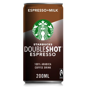 Starbucks Doubleshot Espresso Premium Coffee Drink Can 200ml