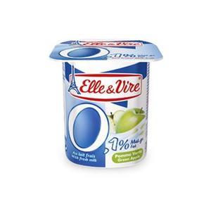 Elle & Vire Yoghurt Green Apple Light 125g