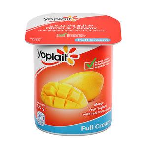 Yoplait Mango Full Fat Fruit Yoghurt 120g