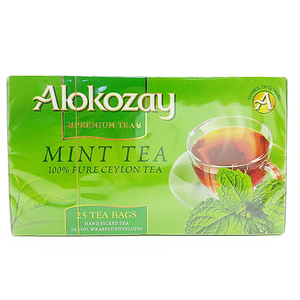 Alokozay Mint Tea Bags 25s