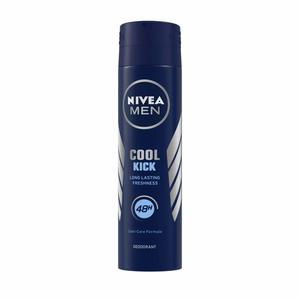 Nivea Cool Kick Deodorant  Fresh Scent Spray For Men 200ml