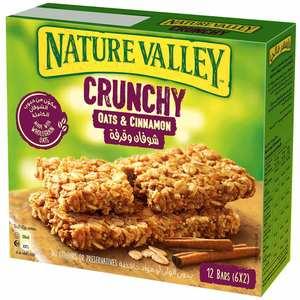 Nature Valley Crunchy Granola Bars Cinnamon Box 252g