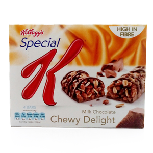Kellogg's Special K Milk Chocolate Chewy Delight 4Bars