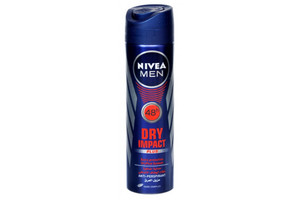 Nivea Dry Impact Antiperspirant Spray For Men 150ml