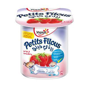 Yoplait Petits Filous Strawberry 120g