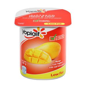 Yoplait Mango Low Fat Fruit Yoghurt 120g