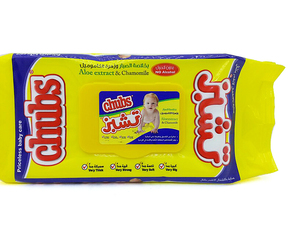 Chubs Baby Wipes Travel Pack 40s