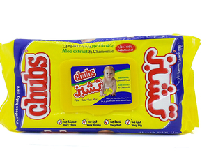 Chubs Baby Wipes Travel Pack 80s