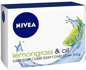 Nivea Lemongrass & Jojoba Oil Lemongrass Scent Soap Bar 100g